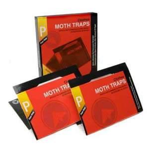 1 Pack of 2 Clothes Moth Pheromone Traps