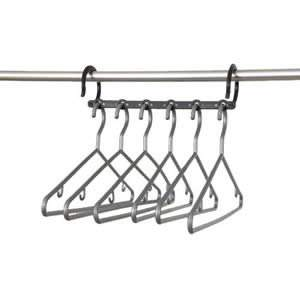 5 Caraselle Multi-Hanging Hanger Bars with 6 Silver Hangers included
