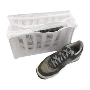 1 Caraselle Zipped Net Washing Bag for Shoes and Trainers 33x19x17cms