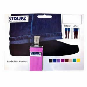 Pink Strupz the Jeans Stirrups. Designed to keep Jeans in Boots.