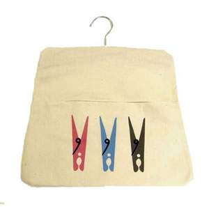 Calico Peg Bag