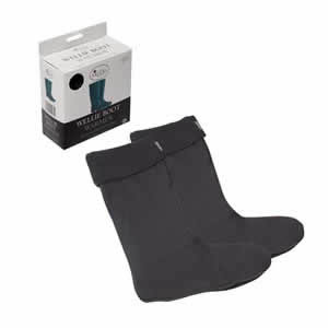 Lovely Warm 100% Polyester Fleece Wellie Boot Warmers UK 7 - 9