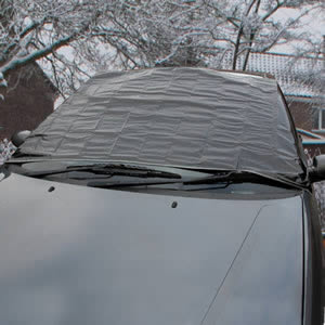 Caraselle Car Windscreen Cover 183 x 92 cms. Tough woven polyethylene, 183x92cm