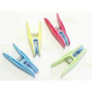 Caraselle Pack of 10 Deluxe Soft Clip Pegs