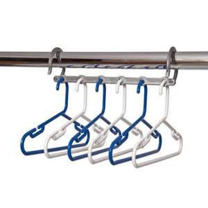 Blue & White Childrens Space Saver Hanger Pack