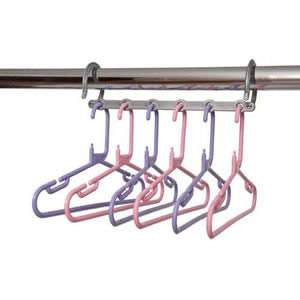 Pink & Lilac Childrens Space Saver Hanger Pack
