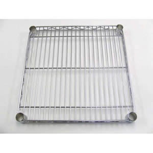 High quality steel shelf with chrome finish