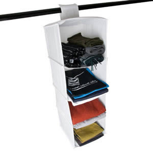 The Caraselle Four Pocket Hanging Sweater Organizer