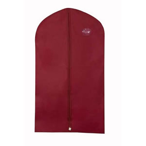 Caraselle Burgundy Peva Suit Cover 112cms x 63cms (44 x 25)