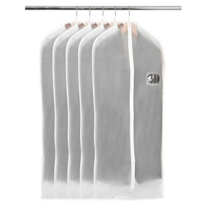 Pack of 5 Peva Suit Covers