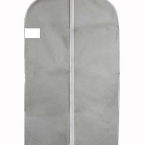 Silver Grey Polypropylene Breathable Suit Cover