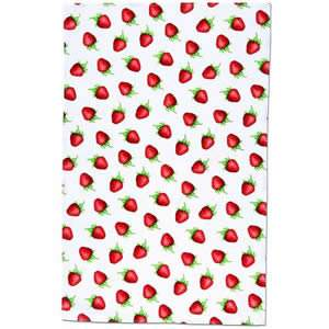 """Strawberries"" Tea Towel - pack of 1"