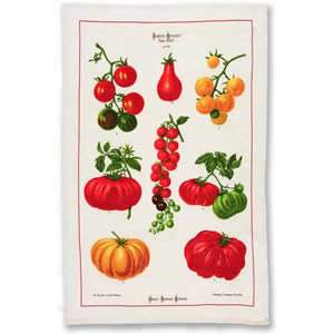 """Tomatoes"" Tea Towel - pack of 1"
