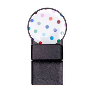 Spots Design Round Magnetic Tozo Spectacle Holder