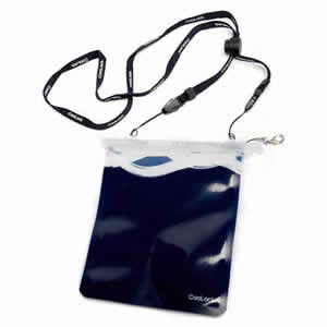 Blue Carrylock Wearable WaterProof Pouch