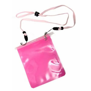 Pink Carrylock Wearable WaterProof Pouch