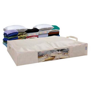 Caraselle Jumbo Underbed Space Bag Vacuum Storage Chest
