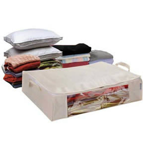 Caraselle Vacuum-Seal Space-Saver Underbed Storage Chest 65x50x15cms
