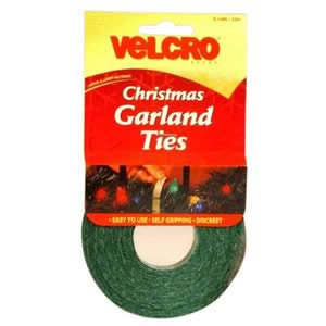 VELCRO Brand Christmas Garland Ties