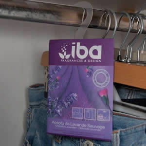 IBA Lavender Hanging Sachet for Small Spaces & Wardrobes