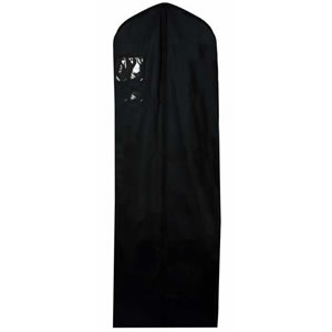 Caraselle Black 100% Natural Cotton Wedding Dress Cover