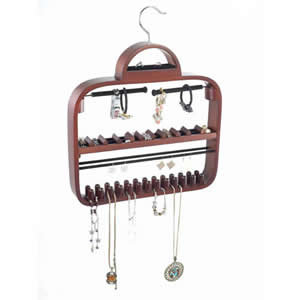 The Woodlore Deluxe Jewellery Hanger