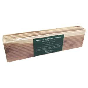 Woodlore Cedar Drawer Liners - 5 Sections in the Pack