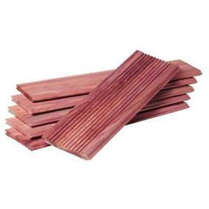 Pack of 5 x Deluxe Woodlore Essential Cedar Wood Drawer Liners Infused with Lavender