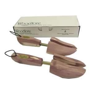 1 Pair Woodlore Cedar Mens Adjustable Shoe Trees