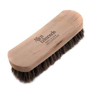 2 x Deluxe Woodlore Cura Shoe Shine Brushes