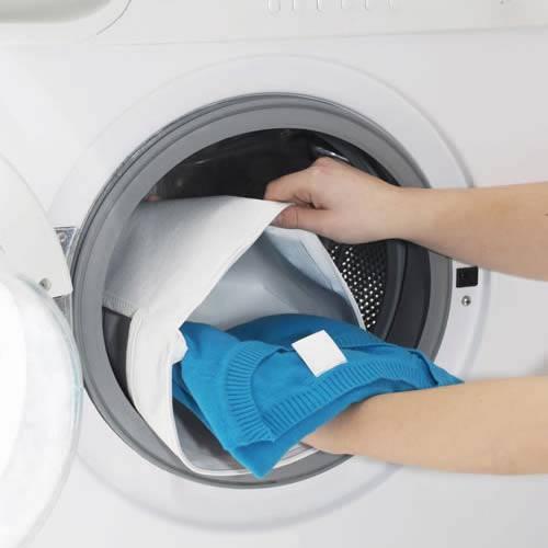 White 100% Polypropylene Washing Bag