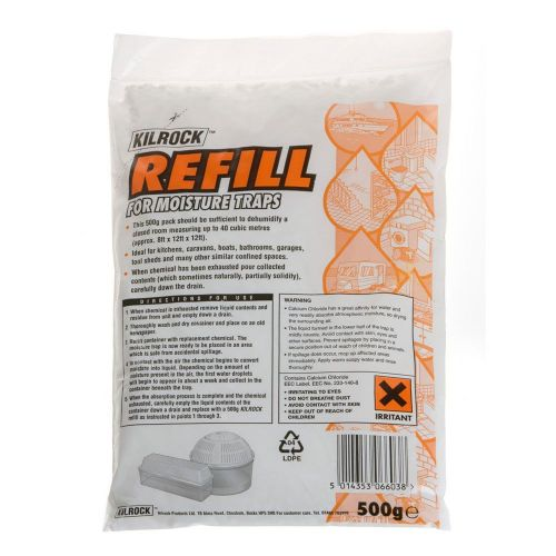 500g Refill Pack for the Caraselle Kilrock Moisture Absorber