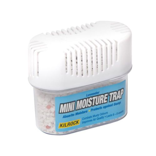 A mini moisture trap with lavender fragrance that absorb excessive humidity and moisture