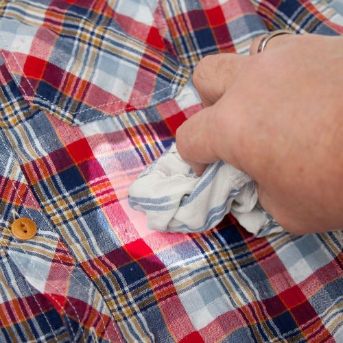 how to get rid of underarm stains on colored shirts