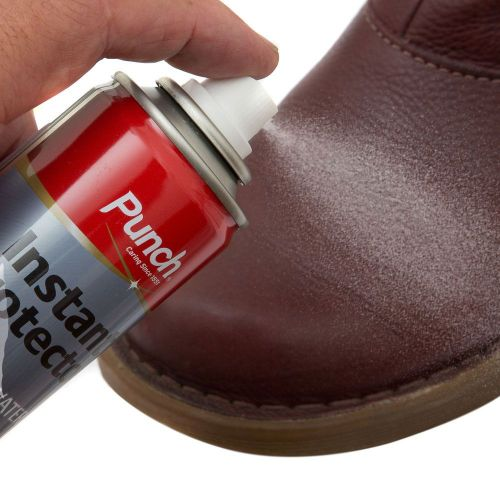 punch instant protector spray for suede leather nubuck
