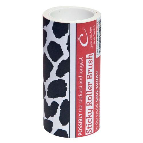 The Caraselle New Cowhide Design Roller Brush Refill with 7.5m of very Sticky Paper in the UK