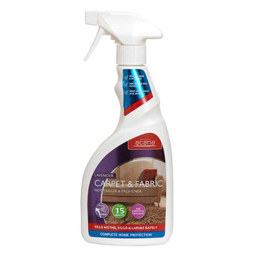 Acana Carpet and Fabric Moth Killer and Freshener Spray 500ml