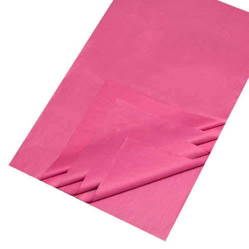 Christmas Essentials Cerise Tissue Paper (25 sheets)
