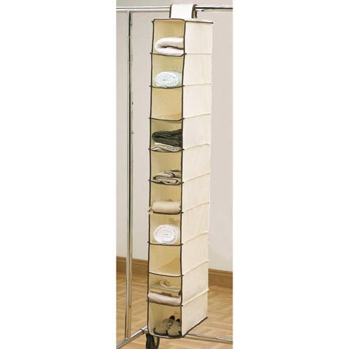 Deluxe Hanging Shoe Organizer With 10 Pockets