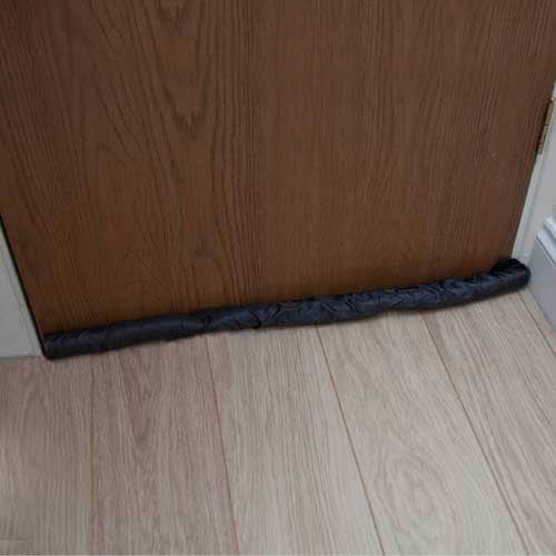 British draught guard insulator draught excluder caraselle for Door draught excluder