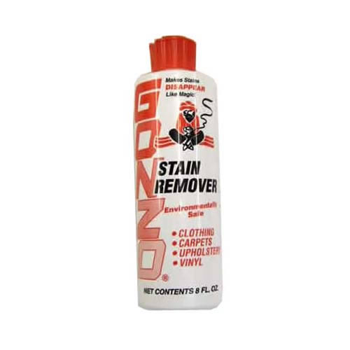 Gonzo Stain Remover 8fl oz Non toxic & Odourless For