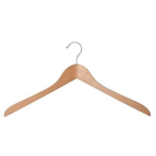 Solid Beech Shaped Shirt Hanger