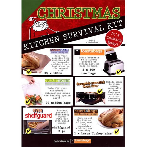 Caraselle Christmas Kitchen Survival Kit