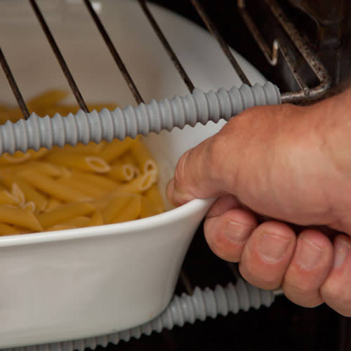 Protecta ShelfGuard 2 Strips by Caraselle Direct. Protect hands & arms from burning when reaching into a hot oven!