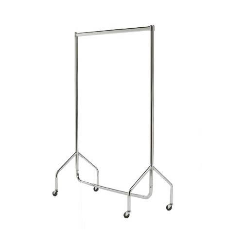 4ft Chrome Clothes Rail