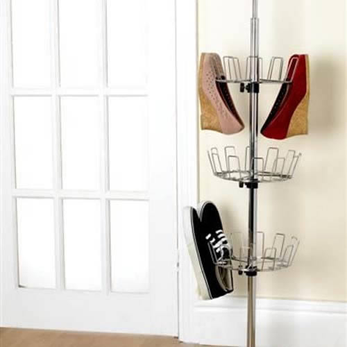 Deluxe Revolving Shoe Tower