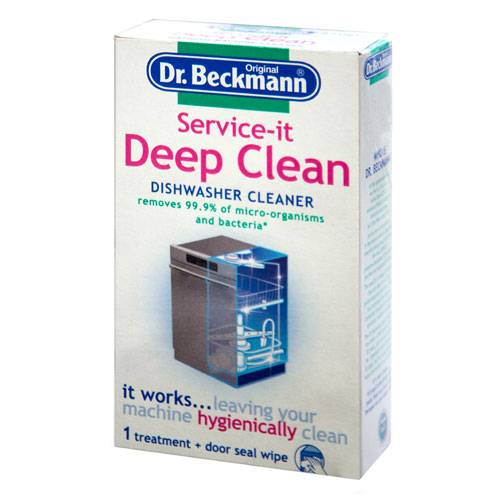 Deep Clean Dishwasher Cleaner & Wipe 75g