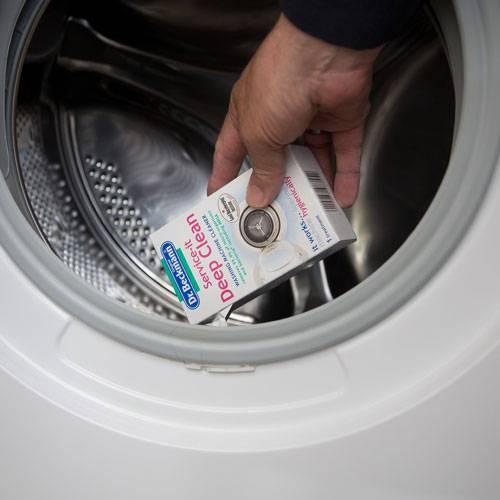 dr beckmann service it deep clean 250g washing machine cleaner 2914 1 ebay. Black Bedroom Furniture Sets. Home Design Ideas