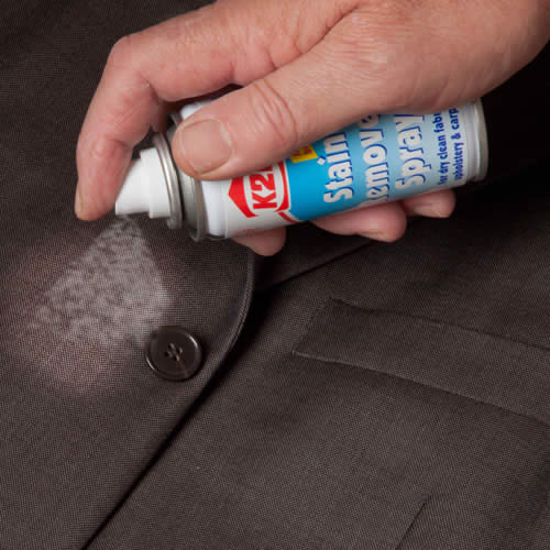 how to use k2r stain remover