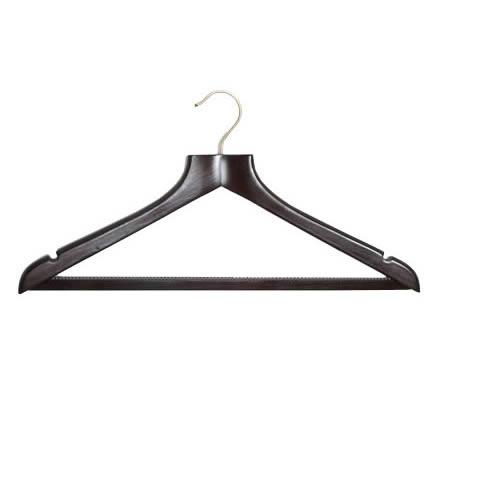 Shaped Walnut Suit Hanger